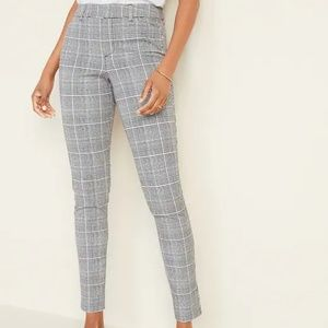 Mid-Rise Printed Pixie Ankle Pants for Women NWT
